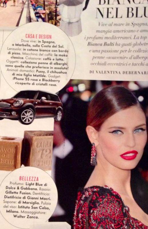 Bianca Balti VanityFair 2014