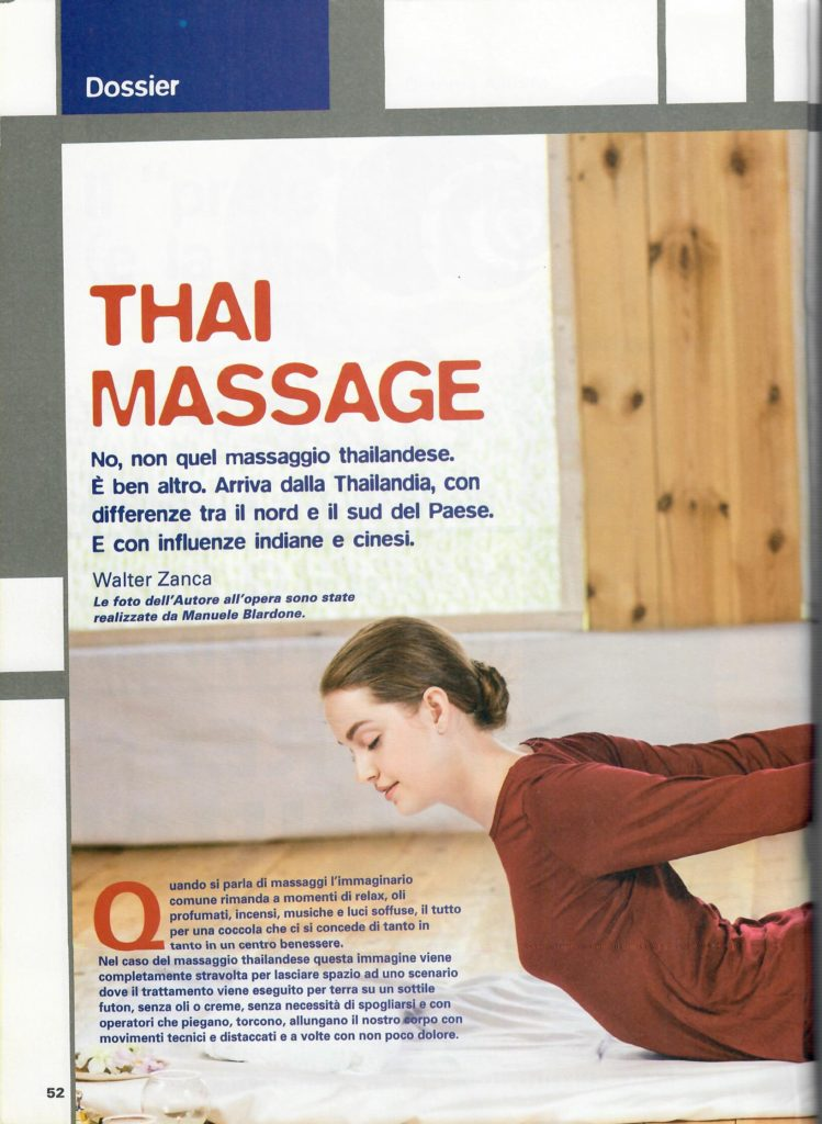 L'altra medicina n° 60 - febbraio 2017 - Dossier massaggio thailandese - Foto di Manuele Blardone.1
