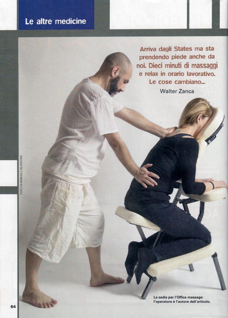 L'altra medicina n° 72 - marzo 2018 - Office massage - Foto di Manuele Blardone.1