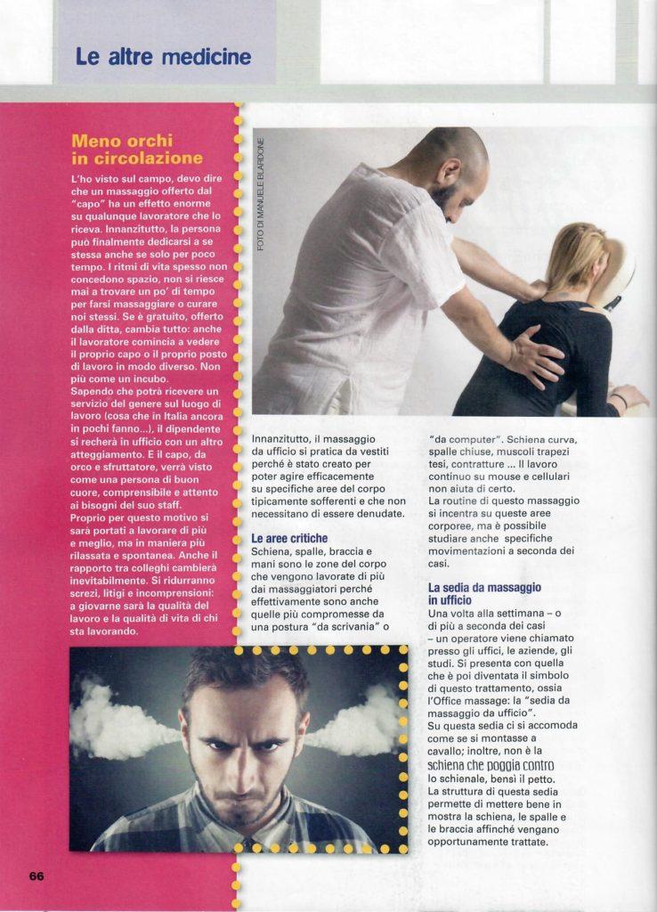 L'altra medicina n° 72 - marzo 2018 - Office massage - Foto di Manuele Blardone.3