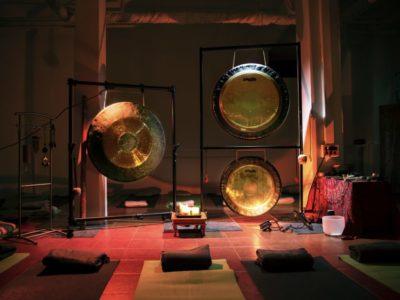 Bagno di gong Milano