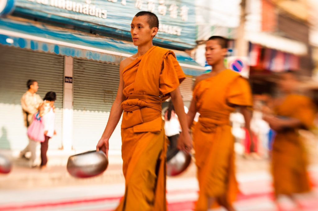 monaci Chiang Mai
